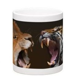 Tigers vs Lions Coffe Mug