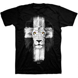 Black Lion Cross Tshirt