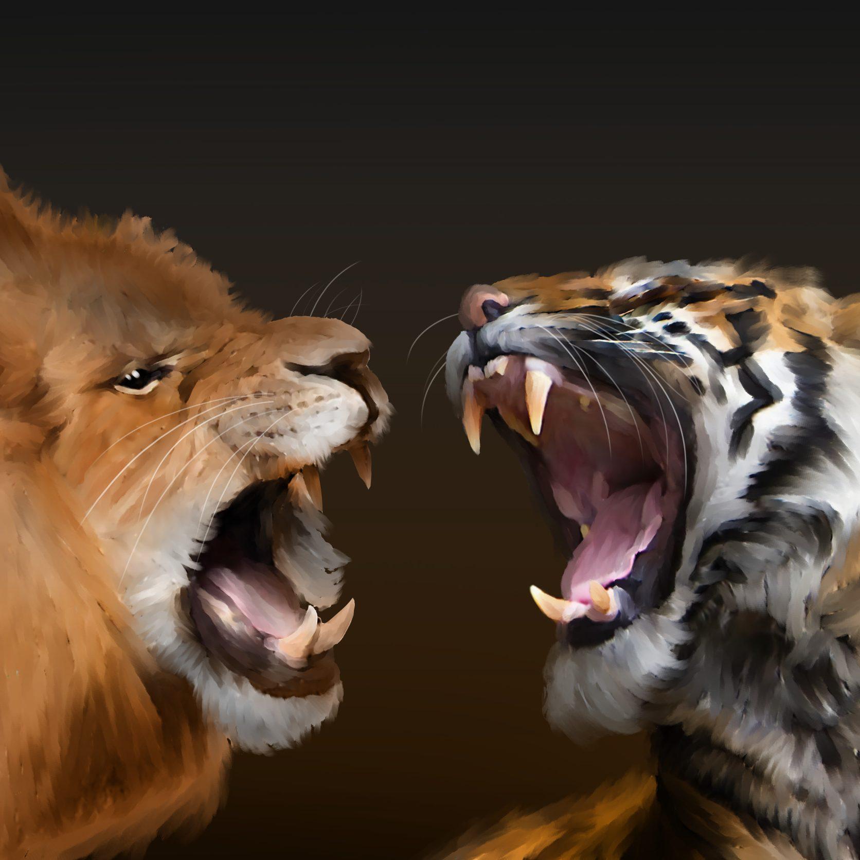 Tigers vs Lions