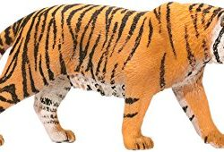 Tiger Small Painted Plastic