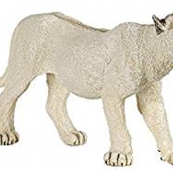 White Lion Figurine