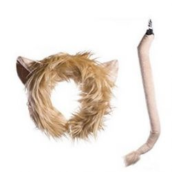 Lion Tail and Head Costume